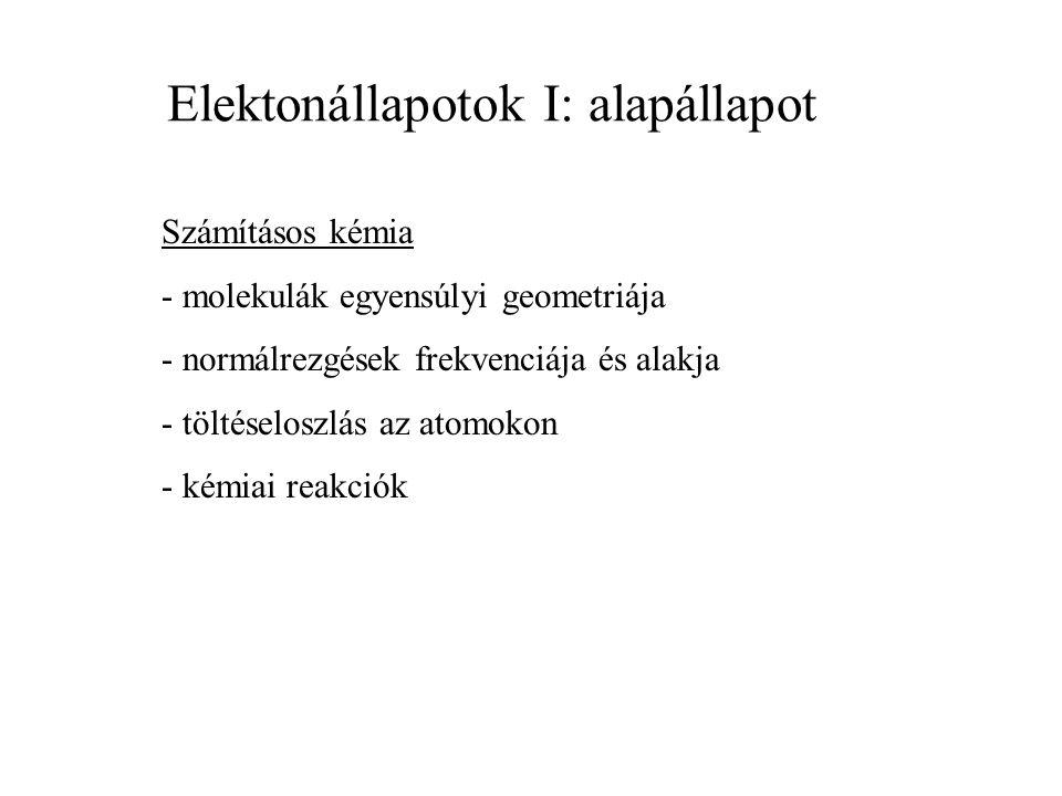 Elektronátmenetek és jelöléseik