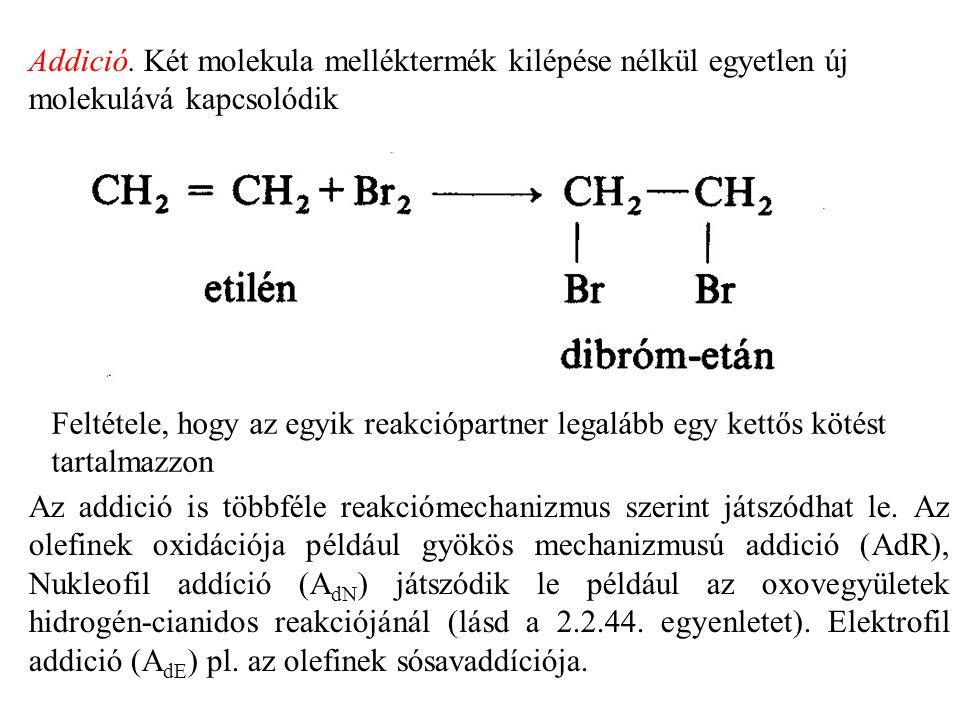 - Nitrálás: Nitrálóelegyként tömény salétromsav és tömény kénsav 1 : 2 arányú elegyét alkalmazzák (a tömény kénsav nemcsak vízelvonó hatású!).