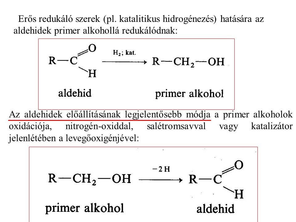 Erős redukáló szerek (pl.