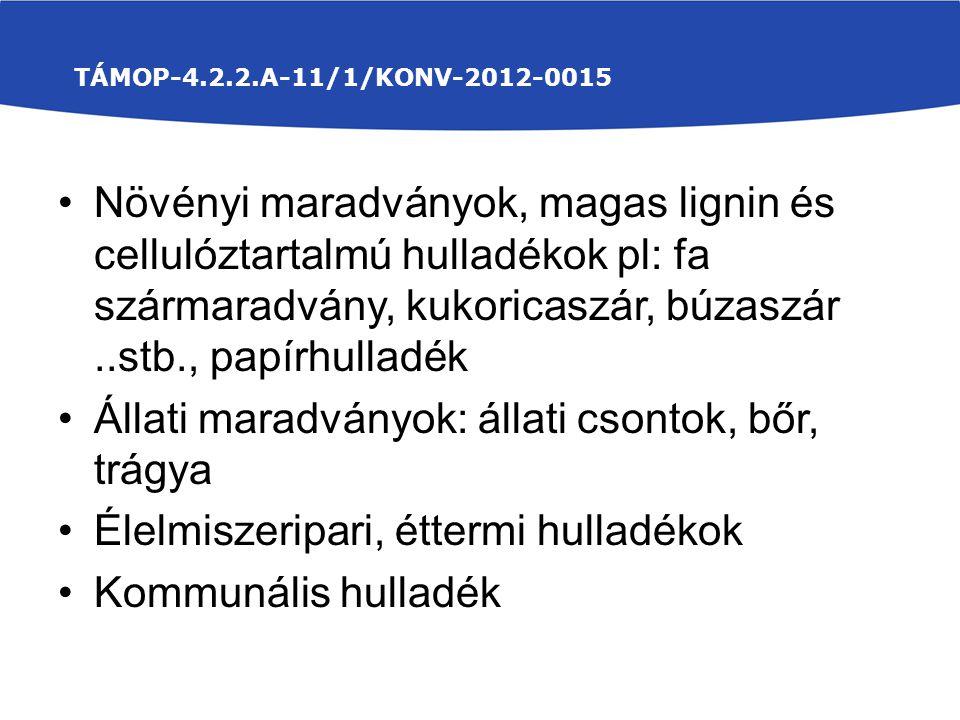 TÁMOP-4.2.2.A-11/1/KONV-2012-0015 A minták K 2 O - tartalom meghatározásának eredménye