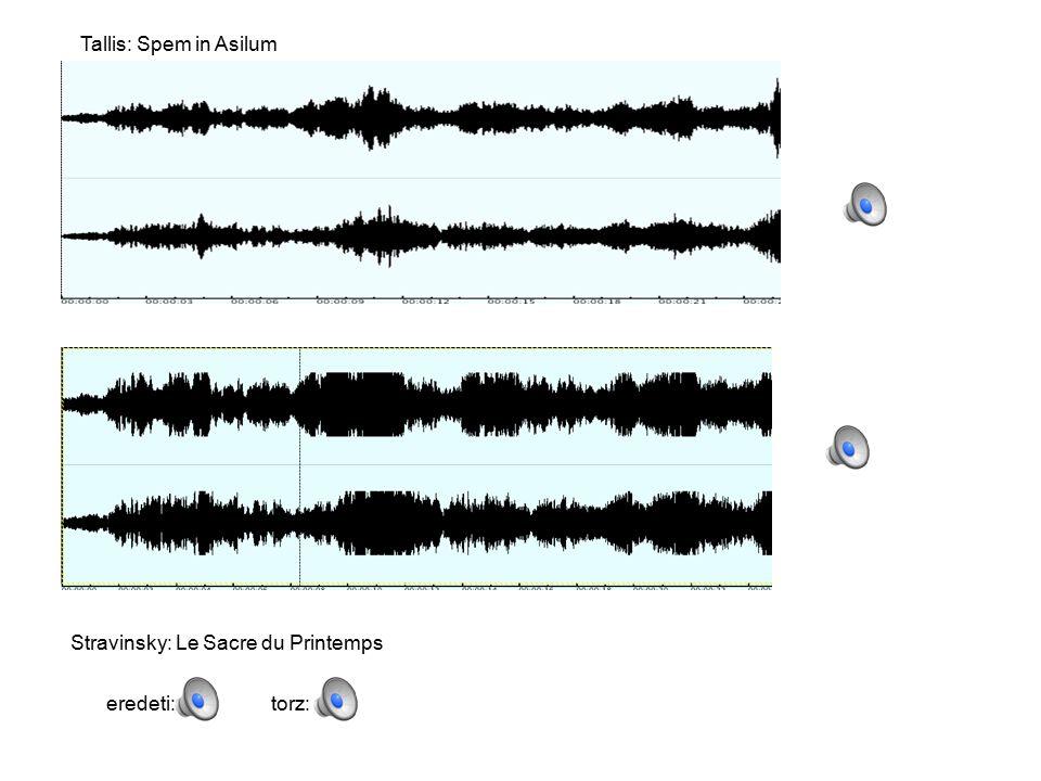 Tallis: Spem in Asilum Stravinsky: Le Sacre du Printemps eredeti:torz: