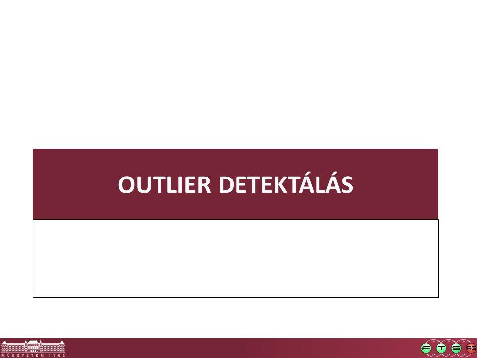 OUTLIER DETEKTÁLÁS