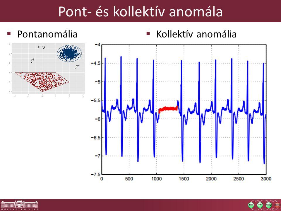 Pont- és kollektív anomála  Pontanomália  Kollektív anomália
