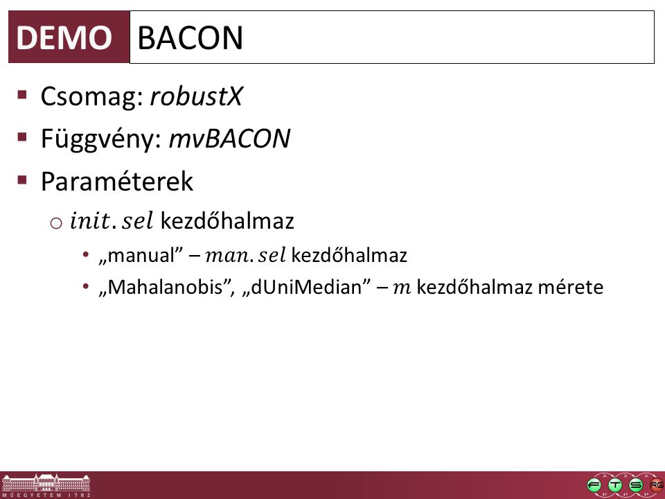 DEMO BACON