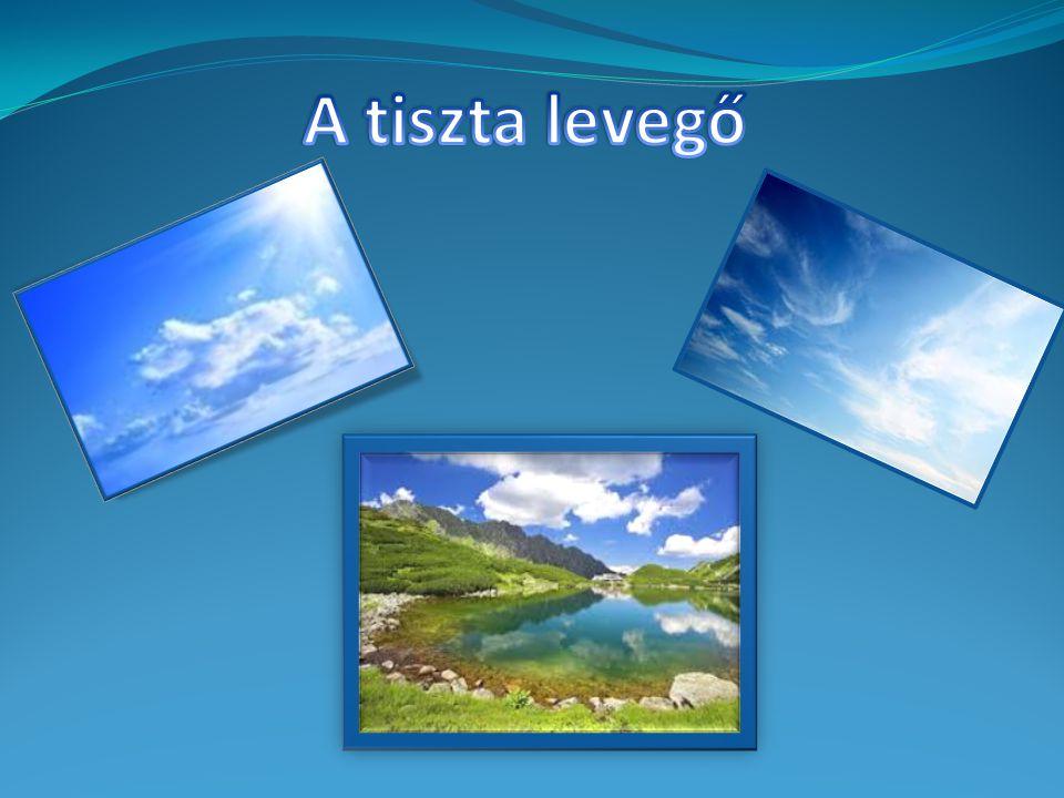 Felhőzetre gyakorolt hatás: Szennyezett levegőben több részecske Több felhő kondenzációs mag Nagyobb számú de kisebb cseppekből álló felhők Nagyobb reflektivitás (fényesebb felhők)