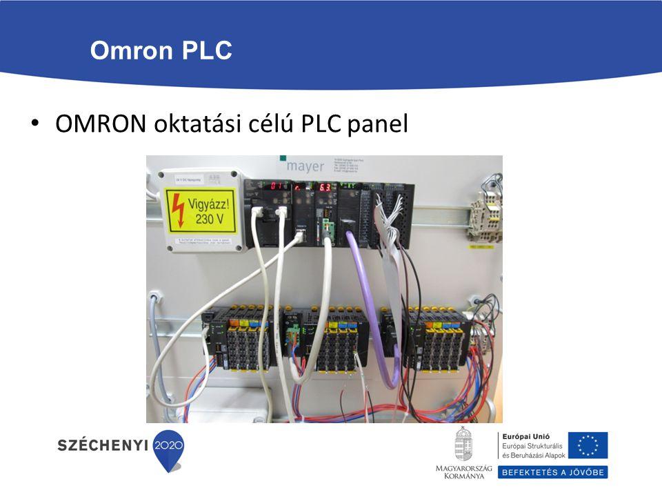 Omron PLC OMRON oktatási célú PLC panel