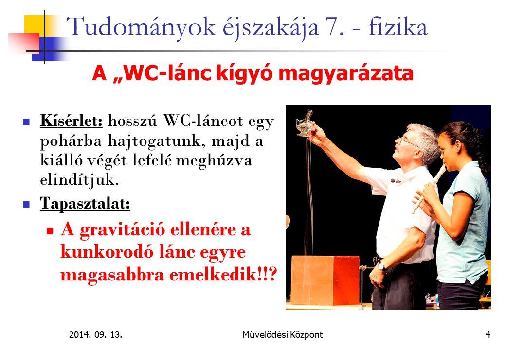 2014.09. 13.Művelődési Központ 25 Tudományok éjszakája 7.