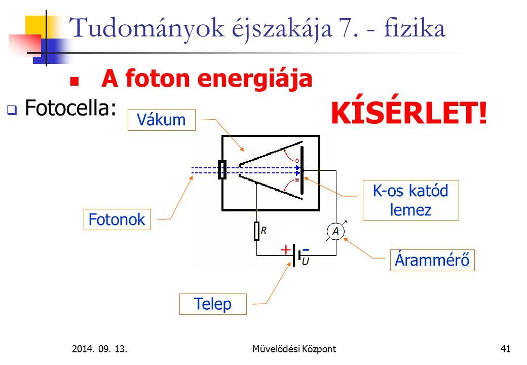 2014.09. 13.Művelődési Központ41 Tudományok éjszakája 7.