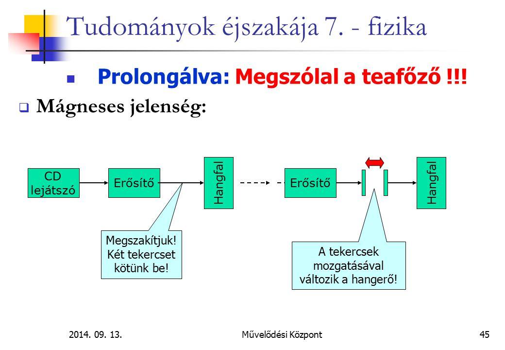 2014.09. 13.Művelődési Központ45 Tudományok éjszakája 7.