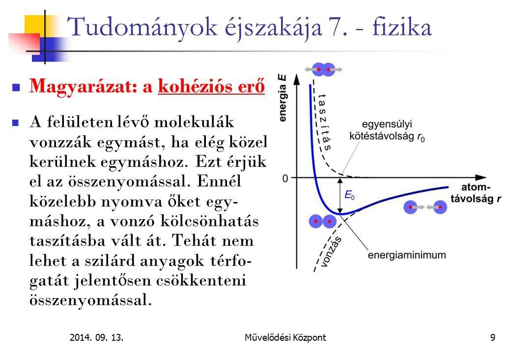 2014.09. 13.Művelődési Központ 20 Tudományok éjszakája 7.