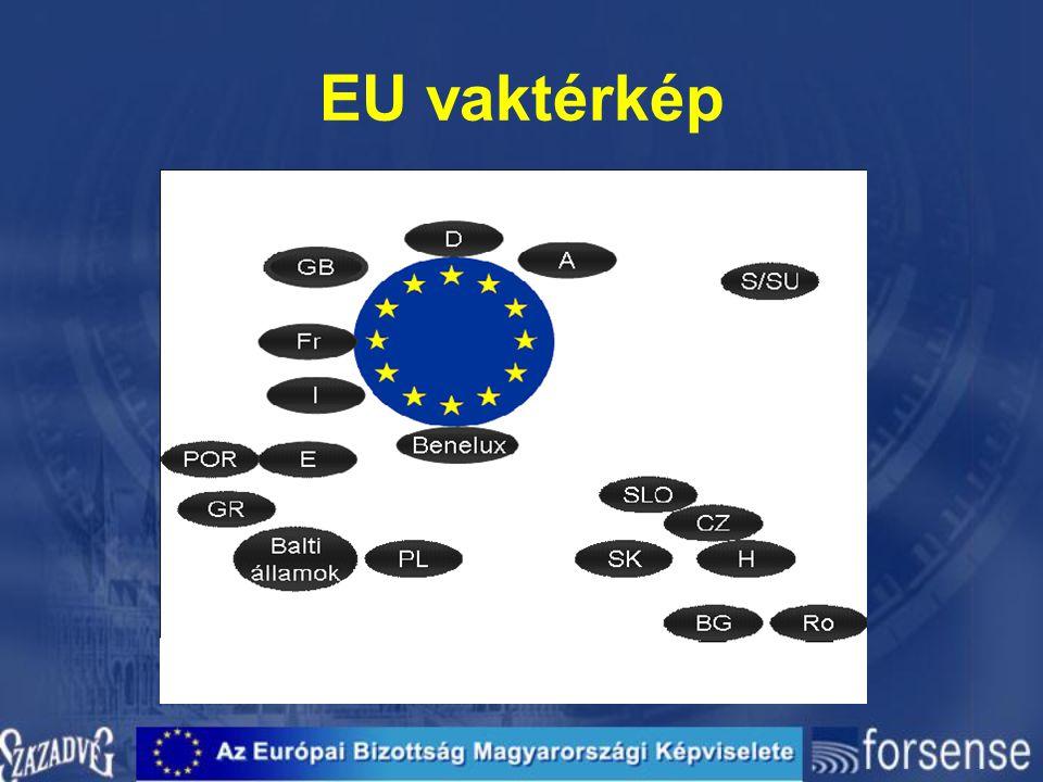 EU vaktérkép