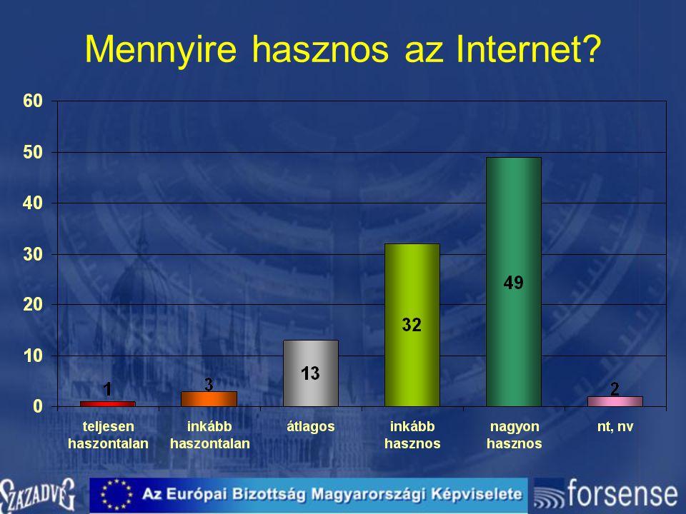 Mennyire hasznos az Internet?
