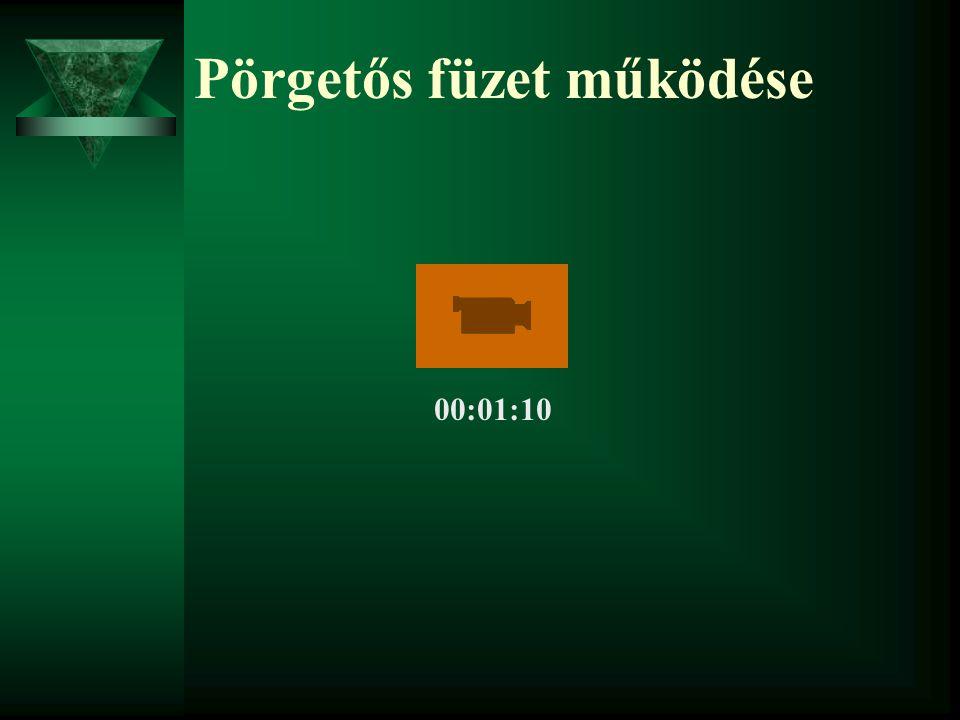 Pörgetős füzet működése 00:01:10