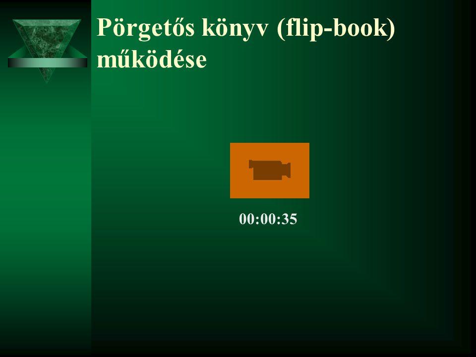 Pörgetős könyv (flip-book) működése 00:00:35