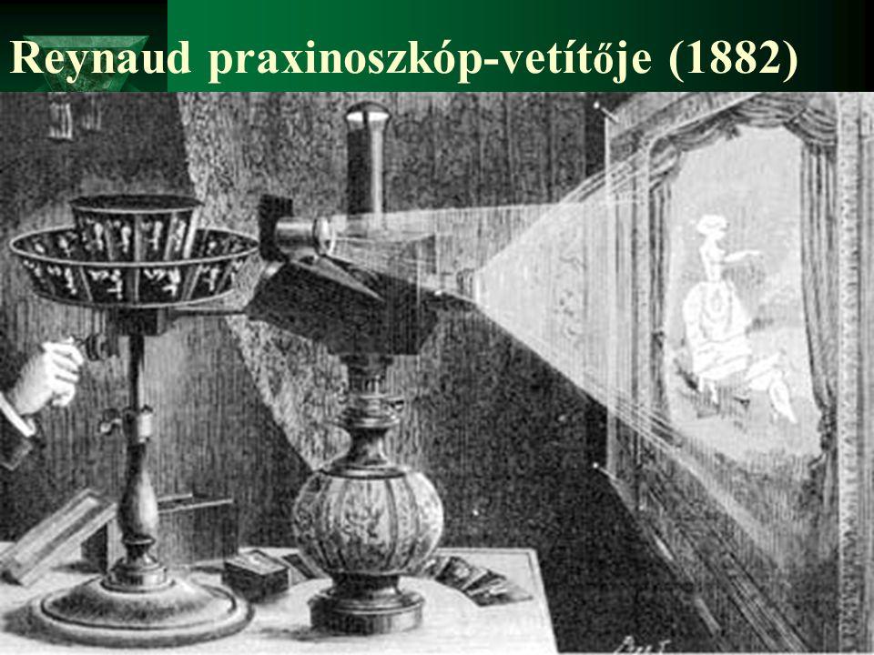 Reynaud praxinoszkóp-vetít ő je (1882)