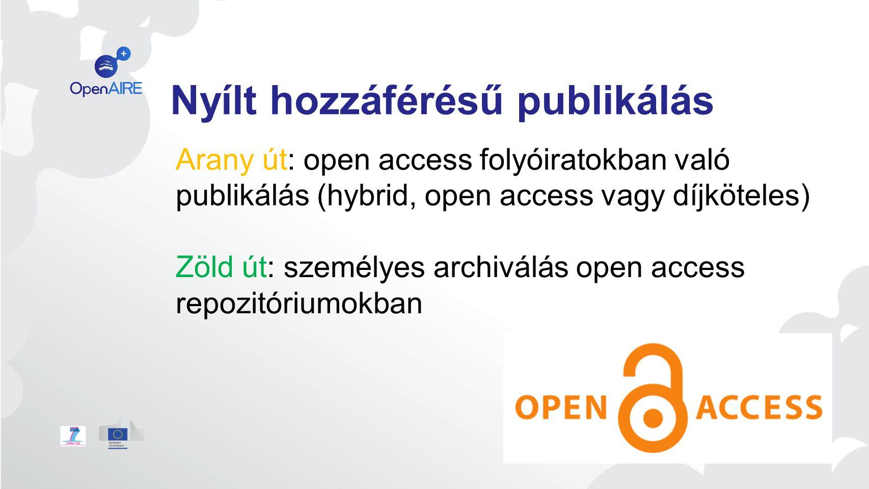 Max Planck Digital Library Publikálási modellek