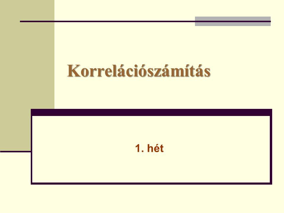 Két változó közötti kapcsolat  Független (az X ismérv szerinti hovatartozás ismerete nem ad semmilyen többletinformációt az Y szerinti hovatartozásról az Y szerinti feltétlen megoszláshoz képest).