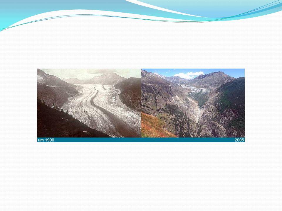 Elsivatagosodás A növekvő hőmérsékletek miatt a talaj vizet veszít a nagyobb párolgás miatt.