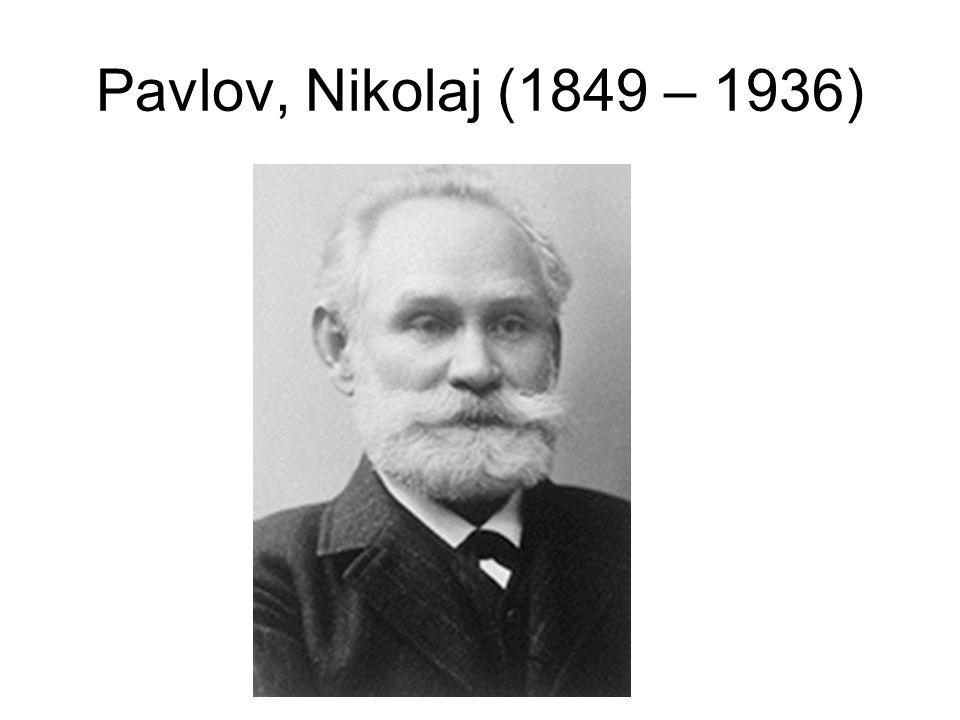 Pavlov, Nikolaj (1849 – 1936)
