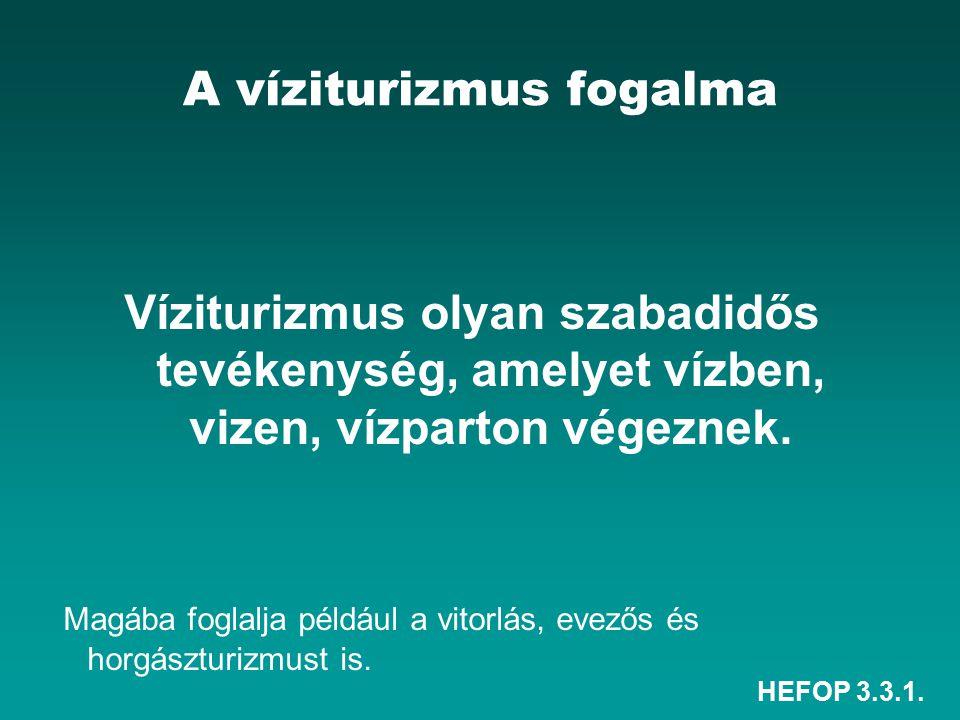 HEFOP 3.3.1.A Tisza A Tisza Magyarország 2. legnagyobb folyója.