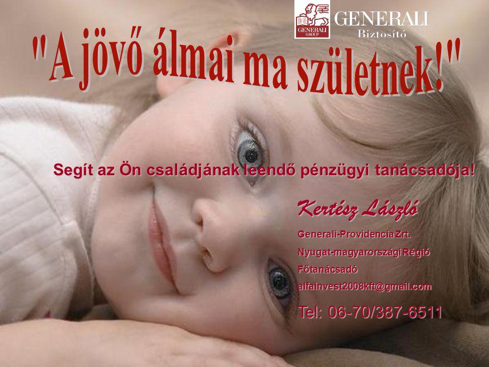 A Generali az Ön 15 éves megtakarítását az első éves díjnak megfelelő bónusszal jutalmazza!
