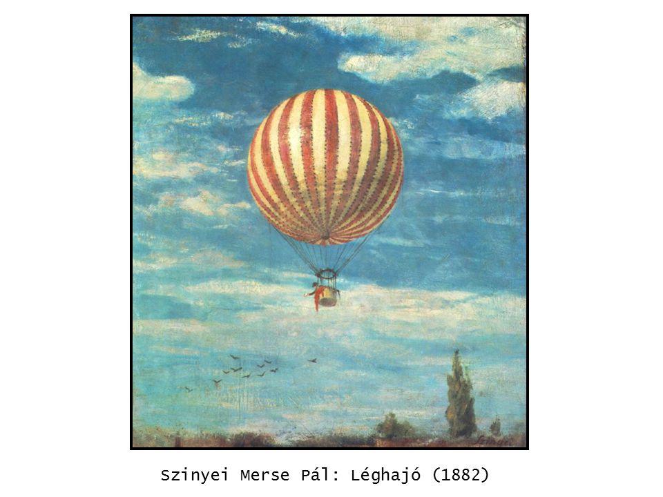 Szinyei Merse Pál: Léghajó (1882) kép
