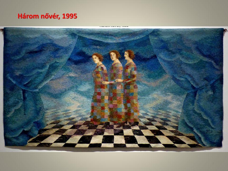 Péreli Zsuzsa Arkhai (A kezdetek) Év: 2009Technika: VízfestményAnyaga: PapírMéret: 390 × 390 mm 28