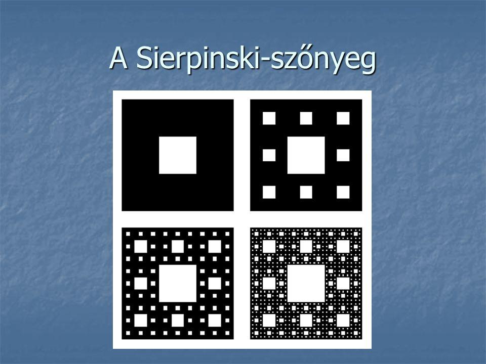 A Sierpinski-szőnyeg