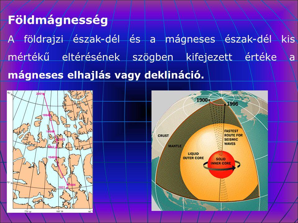 Földrengéshullámok A rengéshullámok iránya és sebessége a különböző halmazállapotú, sűrűségű és nyomású határfelületeken megváltozik.