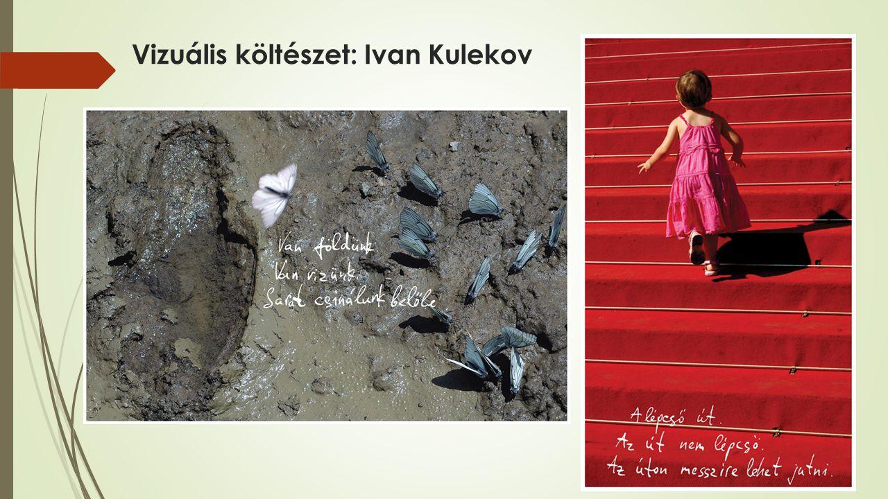 Vizuális költészet: Ivan Kulekov
