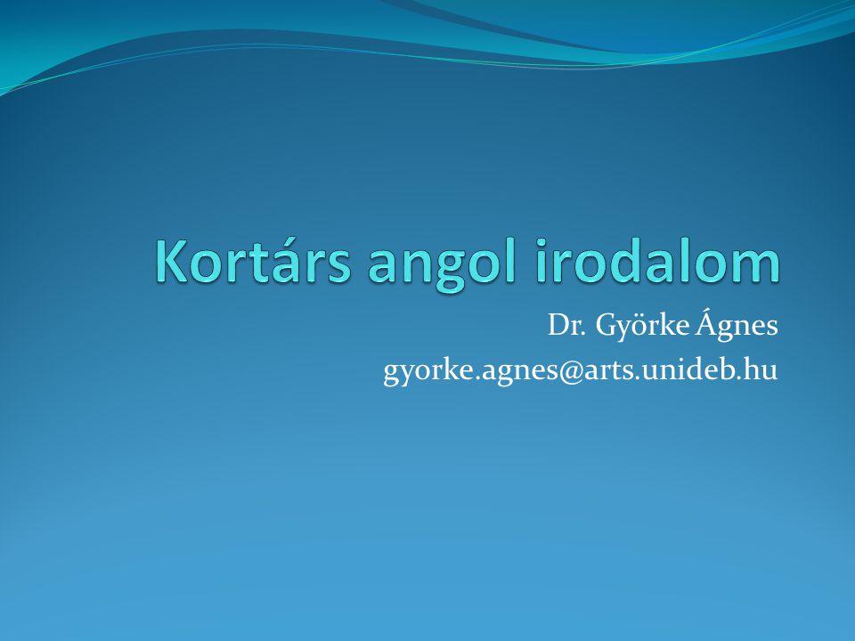 Dr. Györke Ágnes gyorke.agnes@arts.unideb.hu