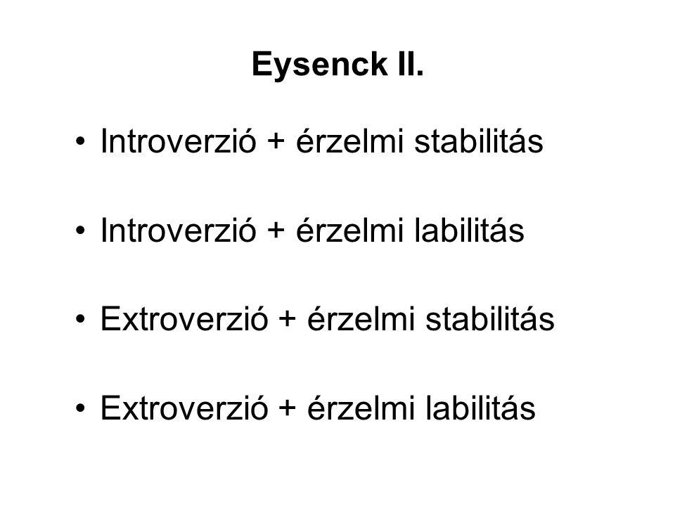 Eysenck II.
