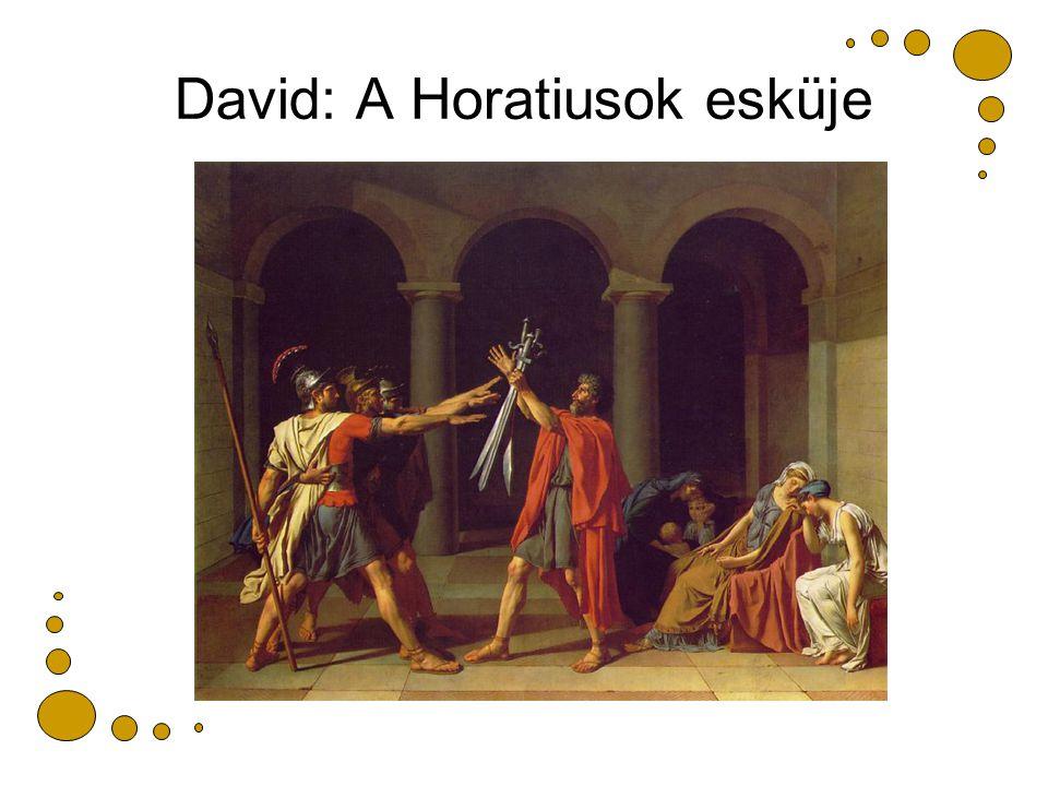 David: A Horatiusok esküje