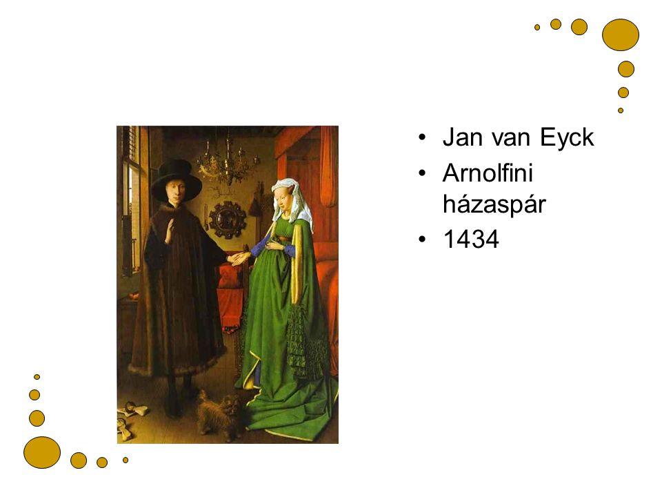 Jan van Eyck Arnolfini házaspár 1434