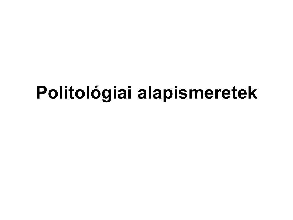 Max Weber  első a gazdaság → ebből fakad minden  politika = az államhatalomért folytatott harc  az egyén és az állam között köztes intézmények vannak = a pártok  pártok → többpártrendszer  a politikát pártügynek tartja (itt zajlik a harc a hatalomért)