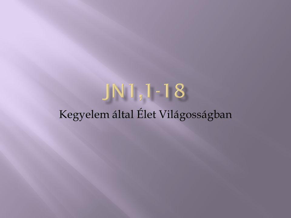  Jn20,30-31 Sok más jelt is tett Jézus a tanítványai szeme láttára, amelyek nincsenek megírva ebben a könyvben.