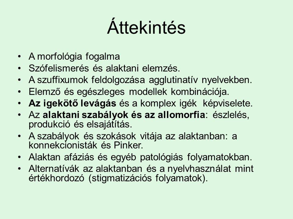 Magyar példák Meg-olvas Fel-gondol Ki-teg Melyiket nehezebb eldönteni.