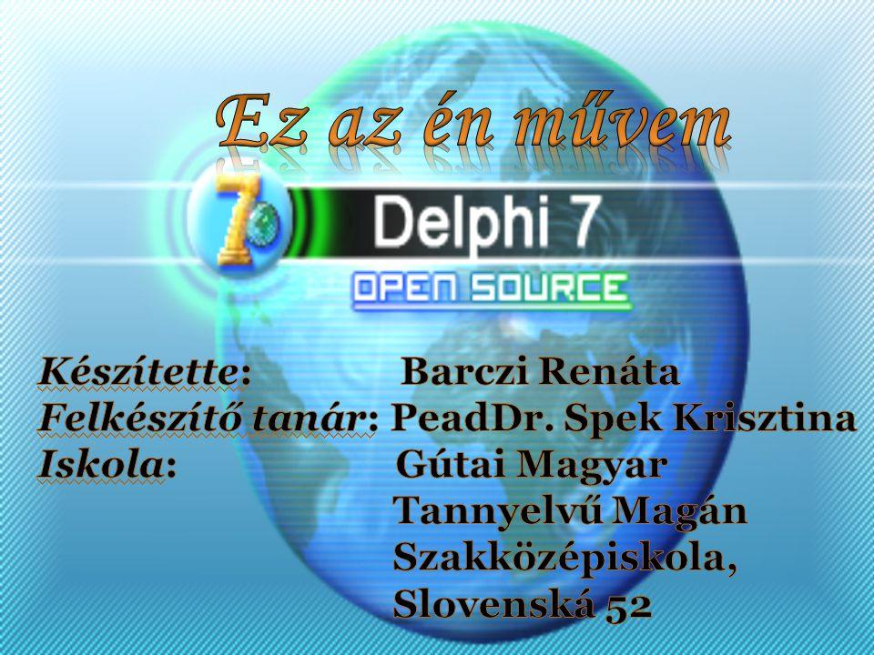 Mi is az a Delphi.