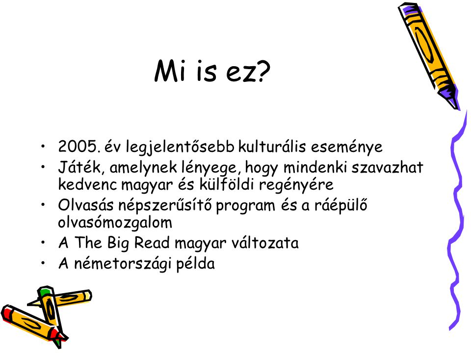 Mi is ez. 2005.