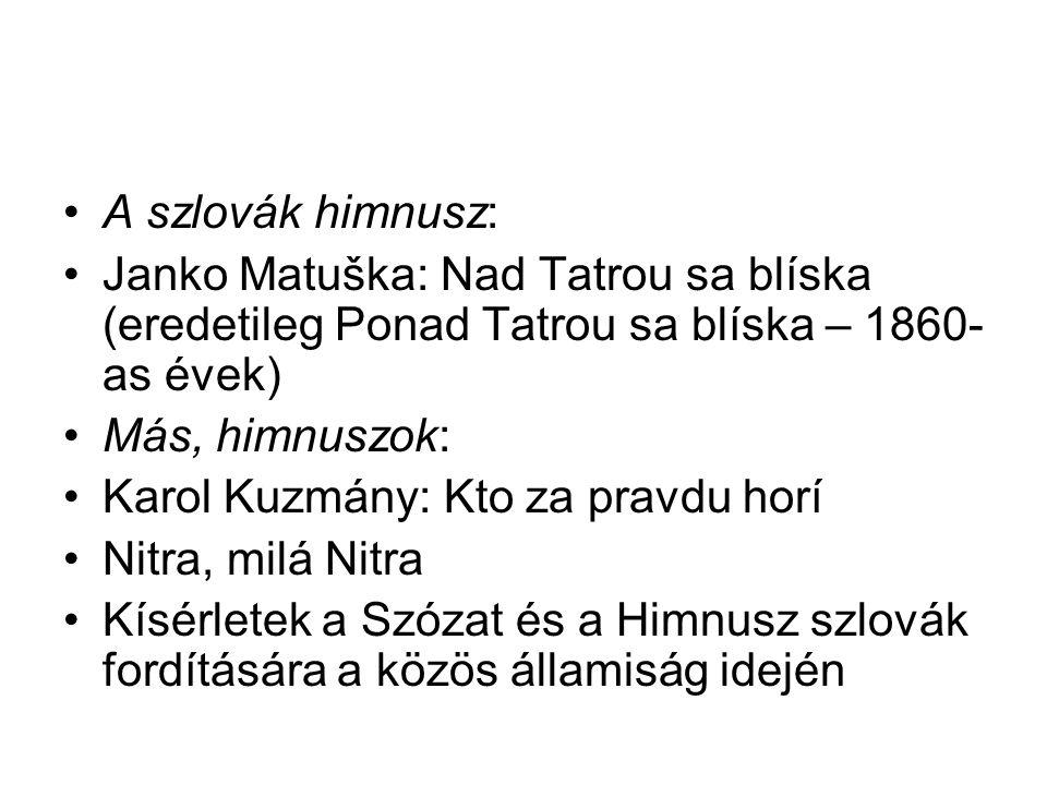 c) Vlkolínec skanzenja d) Bártfa/ Bardejov Híres (gyógy)fürdőhelyek Pöstyén/ Piešťany, Trencsénteplic/ Terenčianske Teplice, Bajmóc/ Bojnice, Sliač, Vyšné Ružbachy.