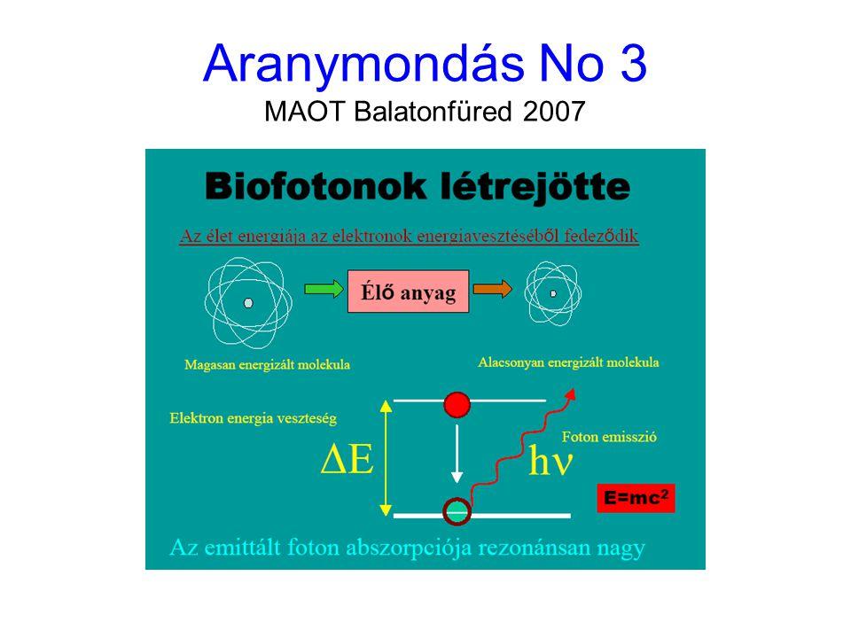 Aranymondás No 4 MAOT Balatonfüred 2007