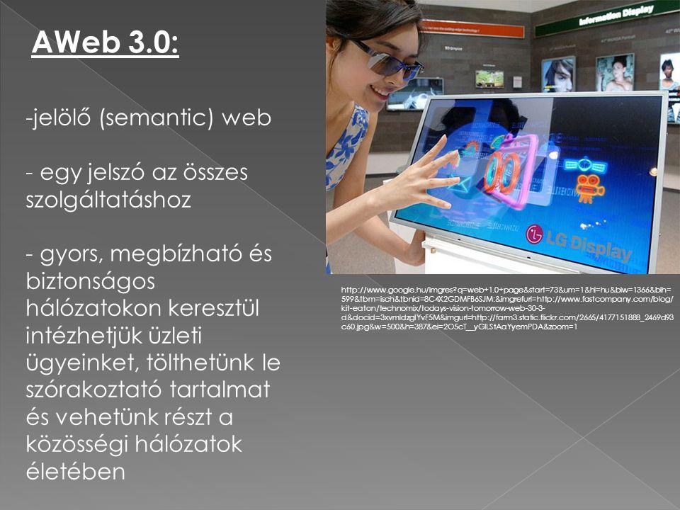 AWeb 3.0: http://www.google.hu/imgres?q=web+1.0+page&start=73&um=1&hl=hu&biw=1366&bih= 599&tbm=isch&tbnid=8C4X2GDMFB6SJM:&imgrefurl=http://www.fastcom