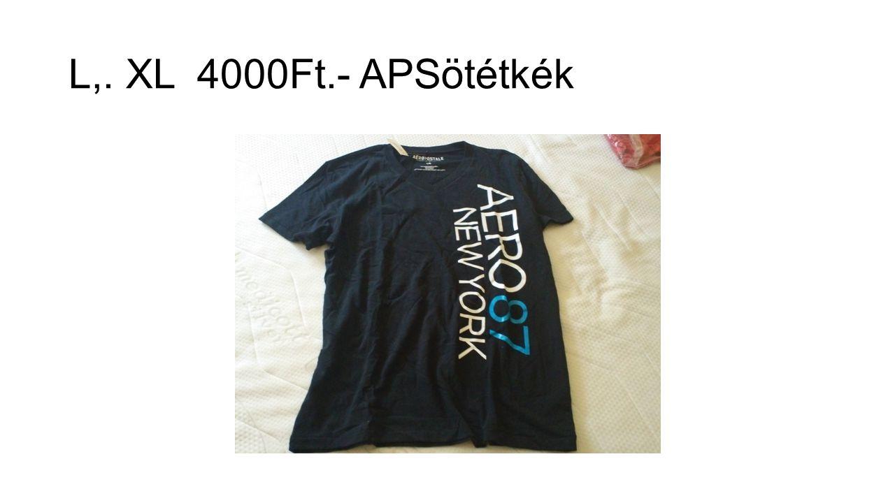 L,. XL 4000Ft.- APSötétkék