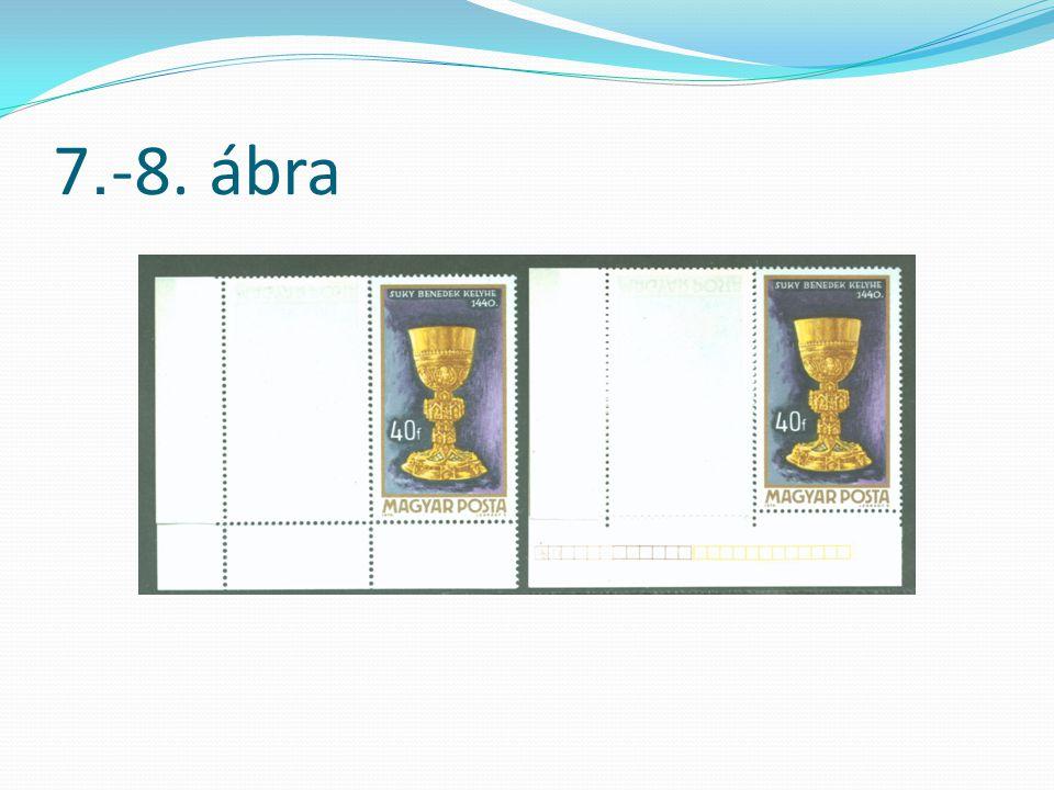 E különböző méretű bélyegek aránya: 12 : 126 x 5 bélyeg(30 db közepes), 12 : 11 ¾1 x 5 bélyeg(5 db hosszú), 12 : 12 ¼1 x 5 bélyeg(5 db rövid) nyomdai ívenként.