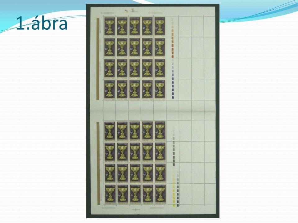 Az ötvösművészet álló téglalap alakú bélyegei az óramutató járásával azonos irányban 90 fokos elfordítással kerültek fogazásra.