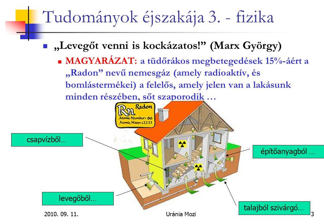 2010.09. 11.Uránia Mozi24 Tudományok éjszakája 3.