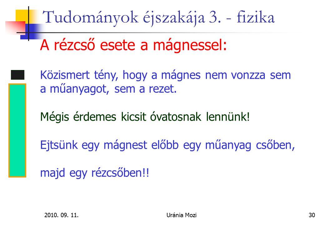 2010.09. 11.Uránia Mozi30 Tudományok éjszakája 3.