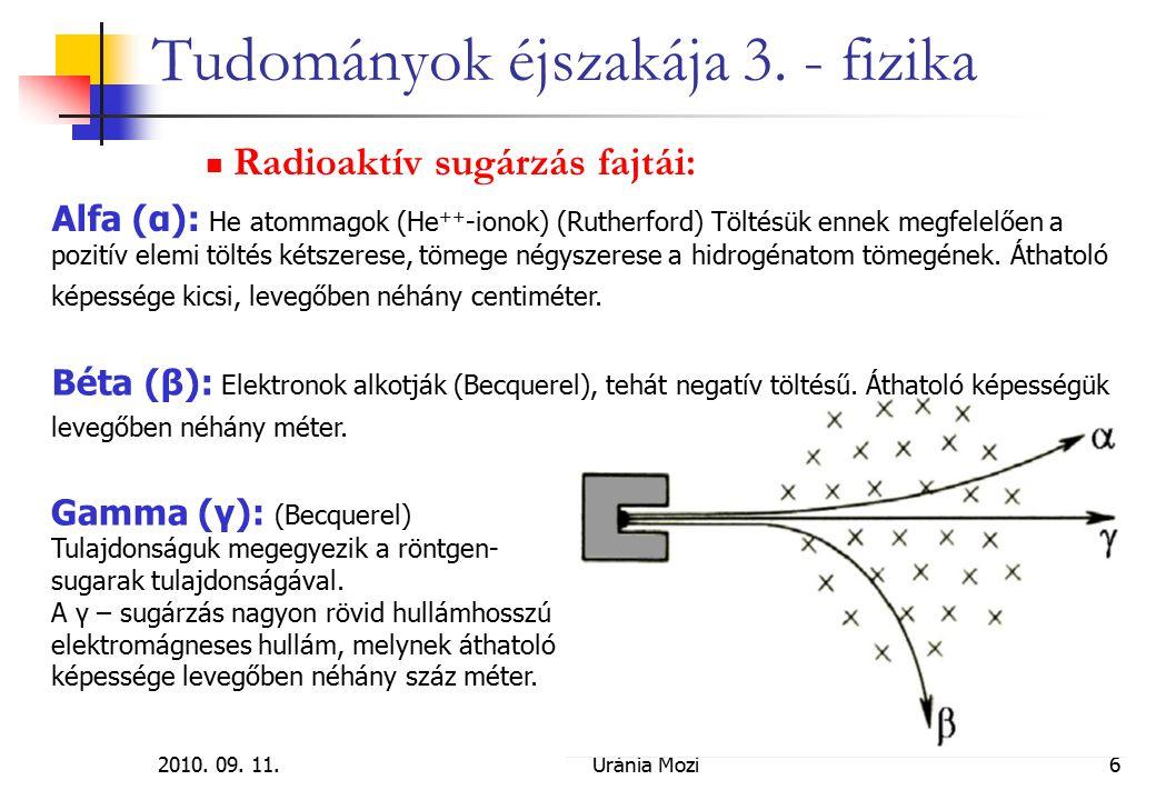 2010.09. 11.Uránia Mozi17 Tudományok éjszakája 3.