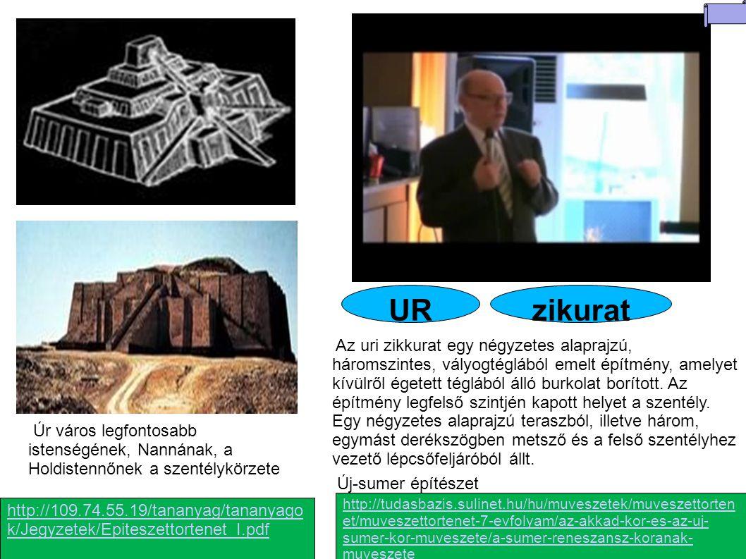 URzikurat http://tudasbazis.sulinet.hu/hu/muveszetek/muveszettorten et/muveszettortenet-7-evfolyam/az-akkad-kor-es-az-uj- sumer-kor-muveszete/a-sumer-