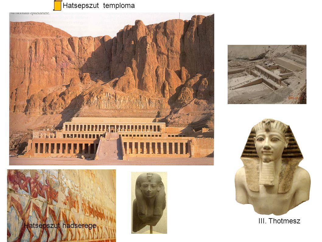 Hatsepszut temploma Hatsepszut hadserege III. Thotmesz